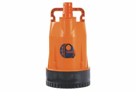 GF-200 (200W) Thermoplastic Submersible Utility Pump