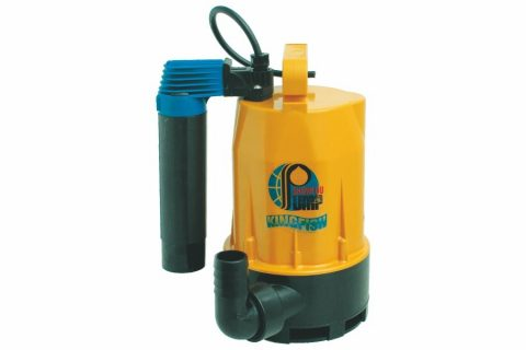 GVA-200V Thermoplastic submersible sump pump with vertical float switch