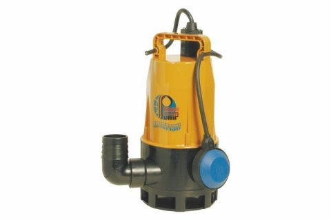 GVA-680 (680W) Thermoplastic Small Sump Pump with Float