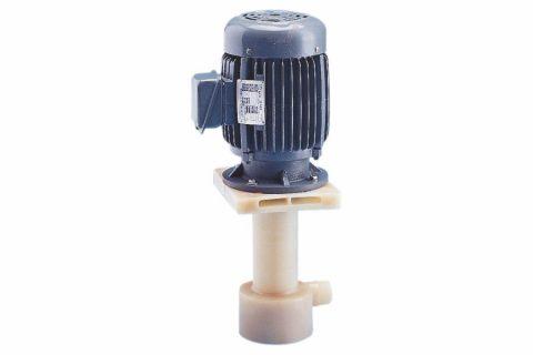 PE-F Type Dry Free Vertical Sealless Chemical PVDF Pump