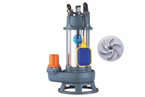 SMA Series Submersible Vortex Drainage Pump with float switch