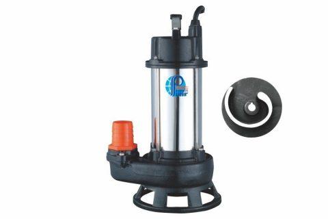 SS Type submersible Non-Clog Sewage Pump, submersible shredder sewage pumps, submersible waste handling pump