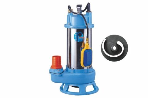 STA Type Automatic Submersible Shredder Sewage Pump, non-clog submersible sewage pumps, submersible solid handling pump
