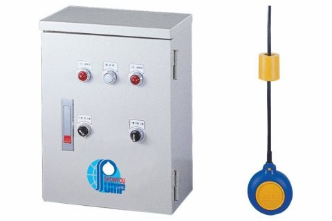 Control Box, and a Magnetic Float Switch (9M length) including the counter-weight.