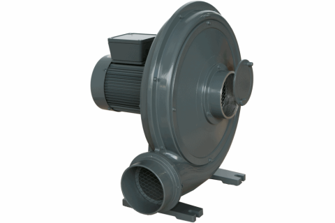 BL series Turbo Blower with Flow Regulating Disc.